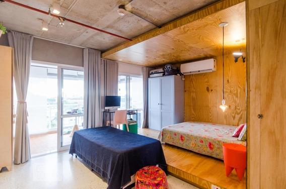 Apartamento Para Aluguel - Baeta Neves, 1 Quarto, 42 - 893038549