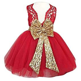 Vestido 0 A 12 Años Fiesta Boda Graduación Fkkfyy Xv Rojo