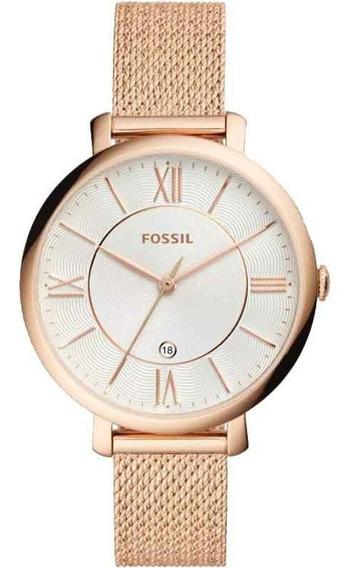 Relógio Fossil Feminino Ladies Jacqueline Es4352/1dn