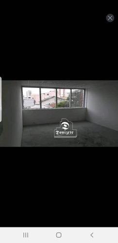 Sala Para Alugar, 42 M² Por R$ 1.300,00/mês - Vila Bastos - Santo André/sp - Sa0338