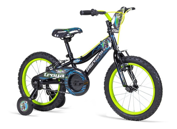 Bicicleta Mercurio Troya Rodada 16, Para Niño