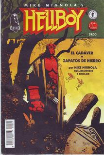 Comic Hellboy El Cadaver Y Zapatos De Hierro Único Español