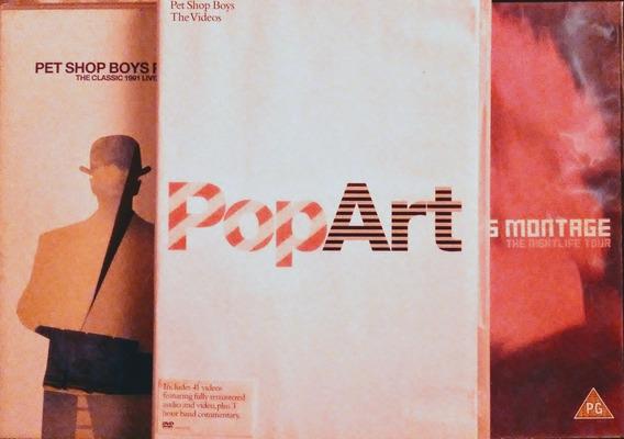Pet Shop Boys Colección 3 Dvds