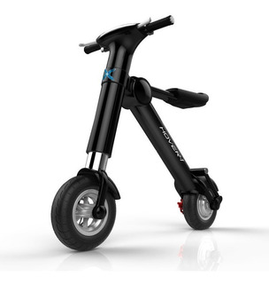 Scooter Eléctrico Hover Diseño Plegable Negro Hy-hbke- /vc
