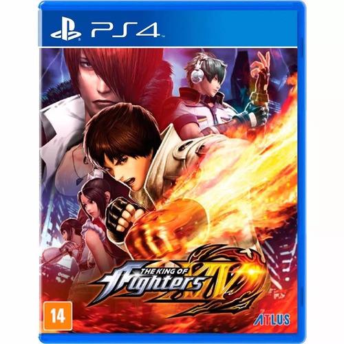 The King Of Fighters Xiv - Ps4 - Novo - Mídia Física Lacrado