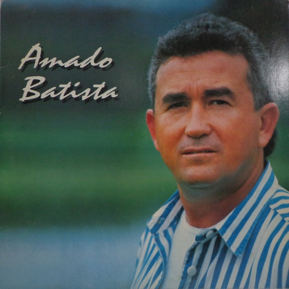 Lp Amado Batista-1995-encarte(tum Tum De Saudade)