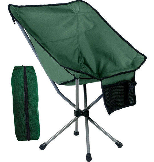 Cadeira Camping Dobravel Praia Pesca Joy Guepardo Com Sacola