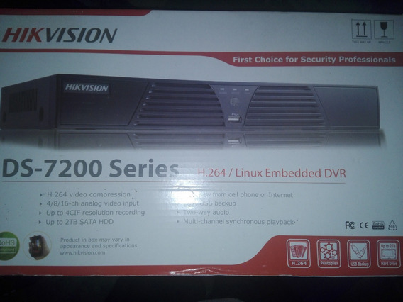 Dvr Hikvision 4 Canales