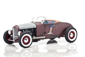 Ford 1929 Hot Rod Harley Davidson 1:18 Highway 61