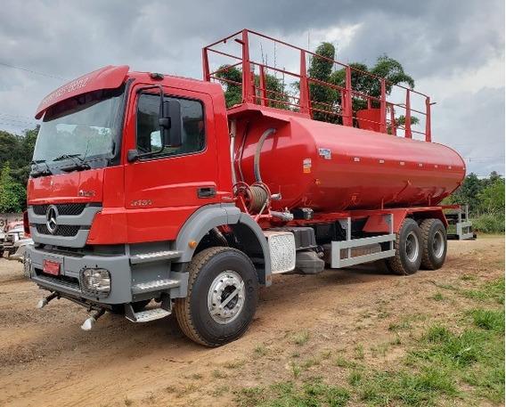 Mercedes-bens Axor 3131 6x4 Ano 2014 Pipa Gascom Km 86.000