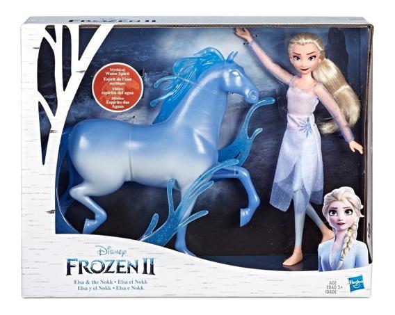 Muñeca Disney Frozen 2 Elsa Y Nok Espíritu Agua Hasbro E5516