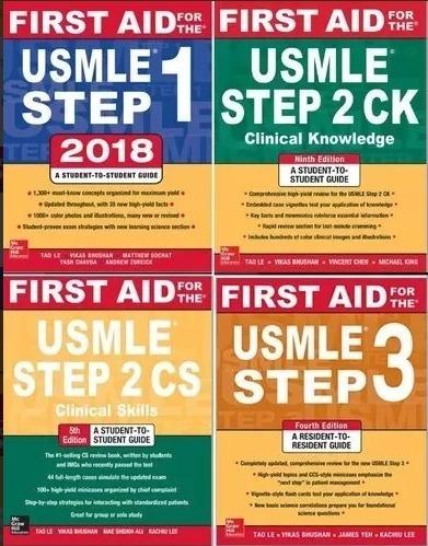 First Aid 2018 - Usmle Steps 1, 2 Cs, 2 Ck, 3