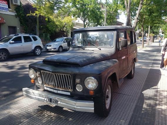 Jeep Estanciera Brasileña Mod 68