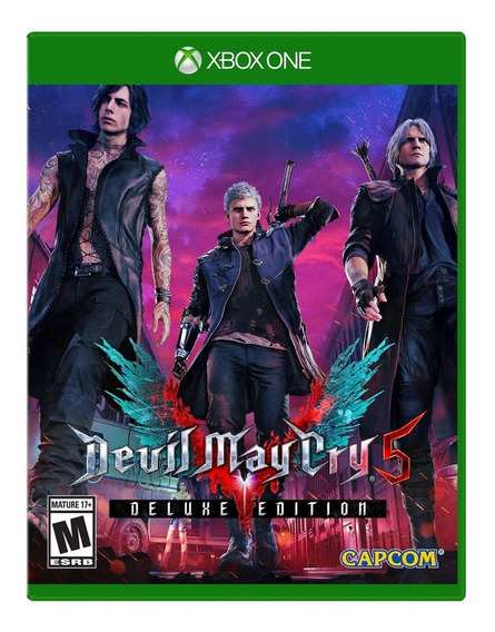 Devil May Cry 5 Deluxe - Digital Online - Xbox One-leg Pt Br