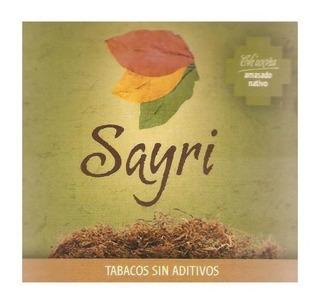 Tabaco Amasado Nativo Sayri Pack X5 Armar Fumar Sin Aditivos