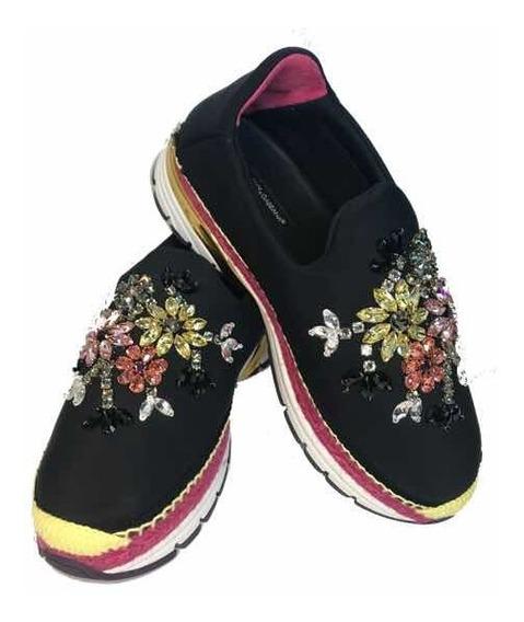 Tênis Dolce & Gabbana Cristais