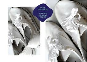 Vans Authentic Branco - Tam 37