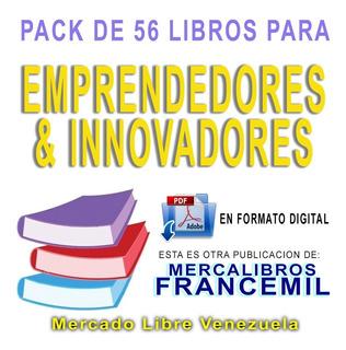 Mega Pack De 56 Libros Pdf Para Emprendedores E Innovadores