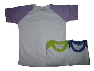 Franelas Para Sublimar De Niños Talla 10 Y 12