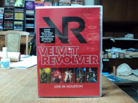 Velvet Revolver-live In Houston(dvd)europeo