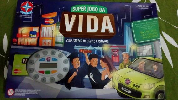 Super Jogo Da Vida Com Cartão De Débito E Crédito