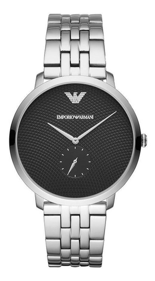 Relógio Empório Armani Masculino Modern Prata Ar11161/1kn