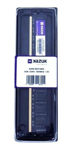 Memória RAM  8GB 1x8GB Kazuk KZRD-BD3168G