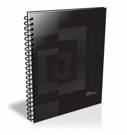 Cuaderno A4 Ledesma Executive C/espiral Ray O Cuadric.,84hs