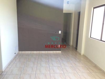 Apartamento Com 2 Dormitórios Para Alugar, 70 M² Por R$ 690/mês - Jardim Contorno - Bauru/sp - Ap3316
