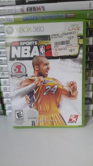 Nba 2k10 Xbox 360 - Original - Mídia Física