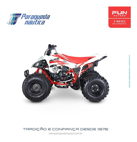 Quadriciclo Atv Fun Motors Alpha Cross 125