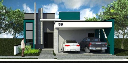 Imagem 1 de 11 de Excelente Casa A Venda - Condomínio Fhytus - Itupeva - Sp - Ca0671