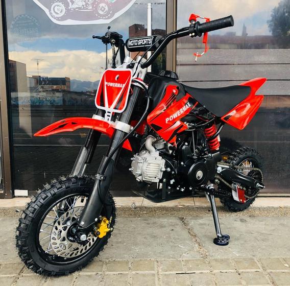 Mini Moto Cross 70cc Niños 2019 Nueva Con Garantía