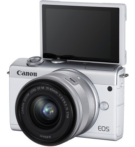 Camera Canon Eos M200 Mirrorless Digital Camera With 15-45mm