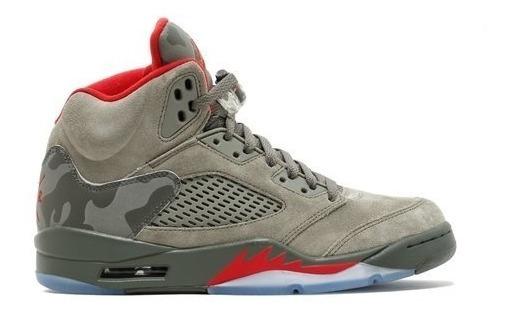 Air Jordan Retro 5 Camo