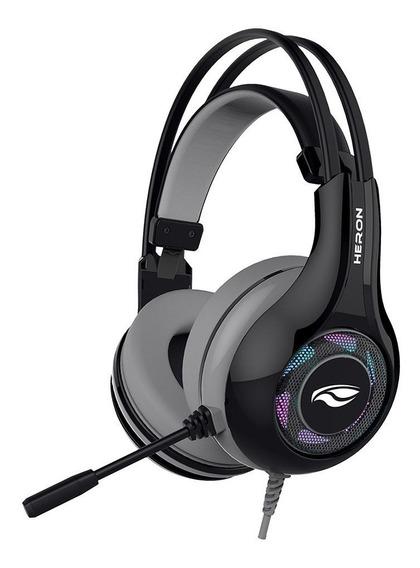 Fone Microfone Gamer Heron Ii Ph-g701bkv2 Preto - C3 Tech