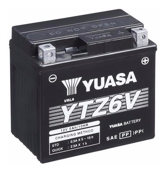 Bateria Yuasa Nxr Bros 150 2009 2010 2011 5a Original Ytz6