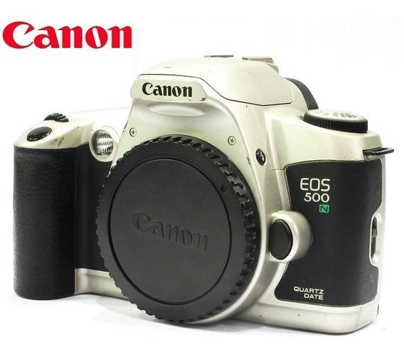 Câmera Canon Eos 500n Qd - Só O Corpo - Reflex 35mm