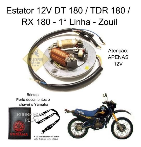 Estator Yamaha Dt 180 / Tdr 180 / Rx 180 12v 1° Linha Brinde
