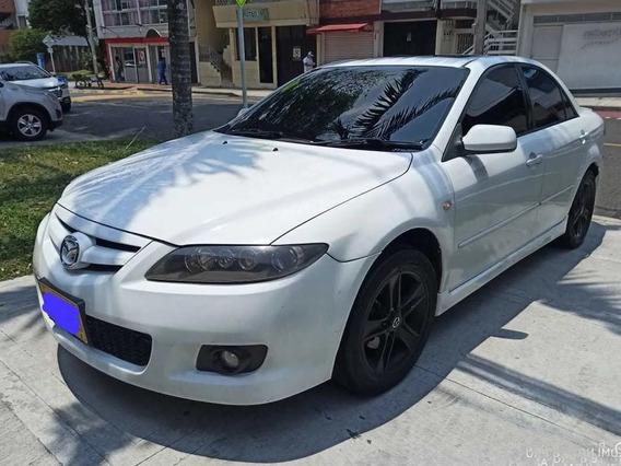 Mazda 6 Blanco Bicapa Con Sunroof