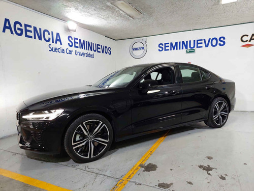 Imagen 1 de 15 de Volvo S60 2021 4p R-design Phev T8 L4/2.0/t Aut