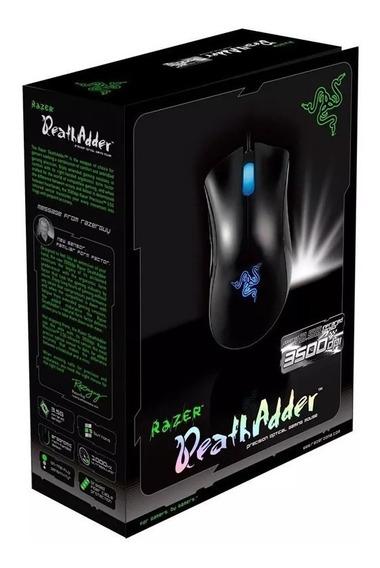 Razer Deathadder Gaming Mouse 2013 3500dpi 3.5g Com Caixa