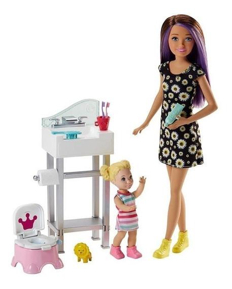 Barbie Skipper Babysitters Fjb01 Mattel