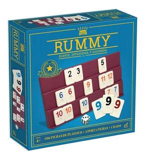 Rummy Juego Familiar Premium Suerte Estrategia Novelty Corp