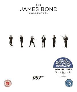 Blu Ray Coleção James Bond (007) - 24 Filmes. Lacrado