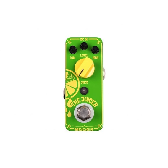 The Juicer Anz1 Mooer Pedal Overdrive Neil Zaza Signature