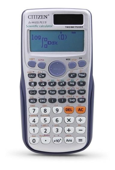 Calculadora Cientìfica Fx-991 Es Dual Power Com 417 Funções