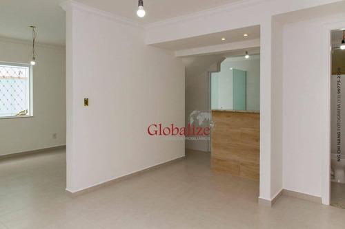 Village Com 2 Dormitórios À Venda, 105 M² Por R$ 458.000,00 - Campo Grande - Santos/sp - Vl0014