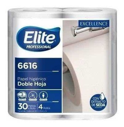 Bolson Papel Higiénico Elite 30mts X 40 Rollos D/h