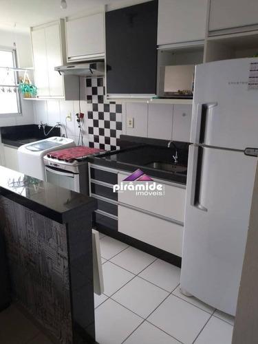 Apartamento À Venda, 45 M² Por R$ 185.000,00 - Parque Residencial Flamboyant - São José Dos Campos/sp - Ap12906